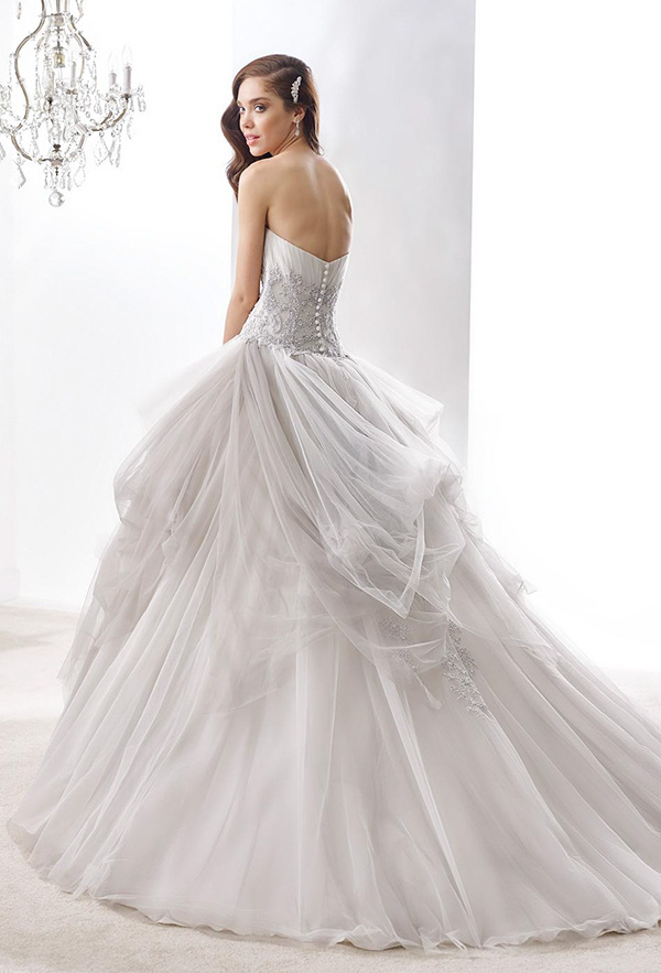 nicole-jolies-2016-wedding-dresses-strapless-sweetheart-neckline-beautiful-gray-ball-gown-wedding-dress-joab16405-back-view