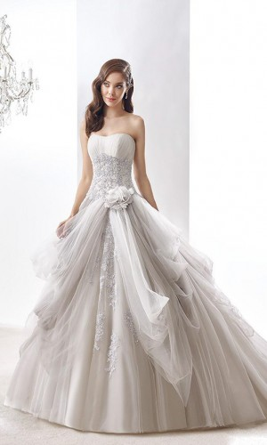 nicole-jolies-2016-wedding-dresses-strapless-sweetheart-neckline-beautiful-grey-ball-gown-wedding-dress-joab16405