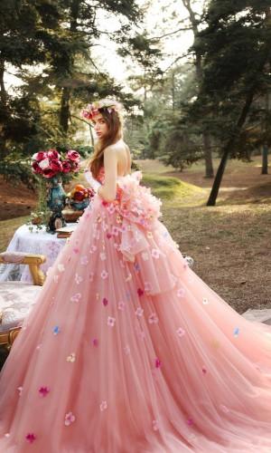 wedding-dress-ann-mv-pink-color-romantic